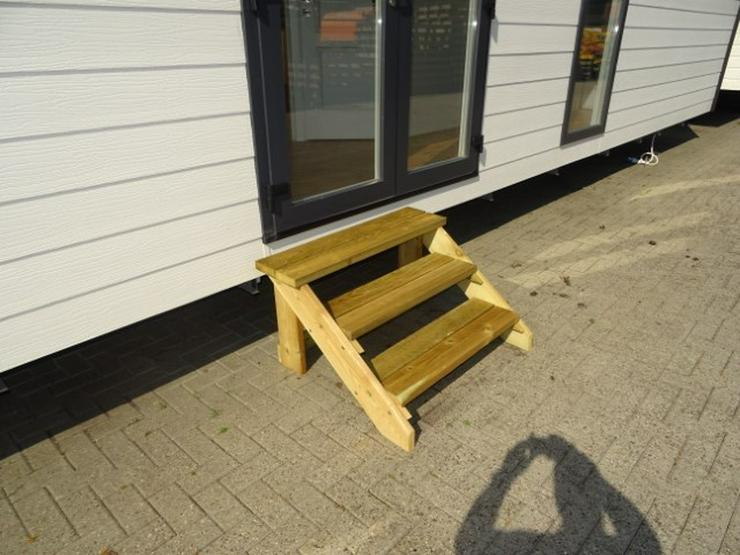 Große Treppe für mobilheime wohnwagen dauercamp