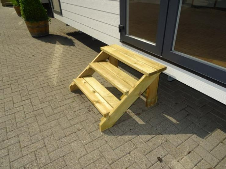 Große Treppe für mobilheime wohnwagen dauercamp - Zubehör & Ersatzteile - Bild 2