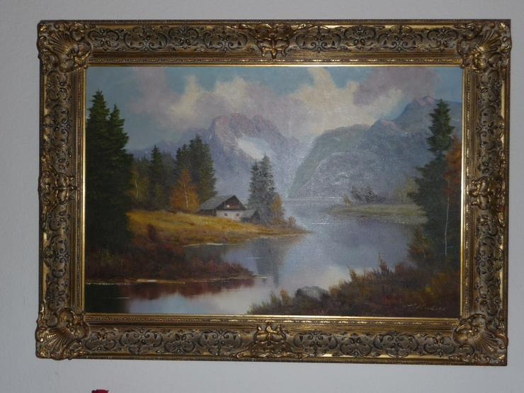 Ölgemälde mit Rahmen - Gemälde & Zeichnungen - Bild 1