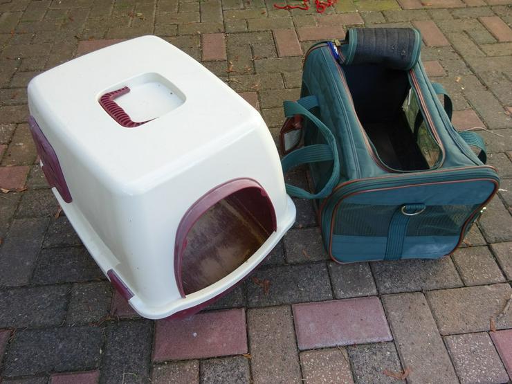 Zubehör für Katzenhaltung zu verschenken - Transport - Bild 1