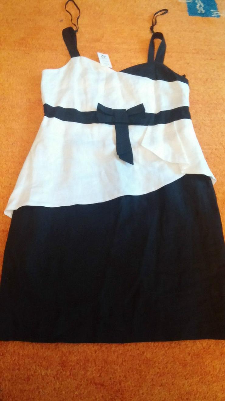 NEU Damen Kleid Leinen Sommer Gr.42 - Größen 40-42 / M - Bild 1