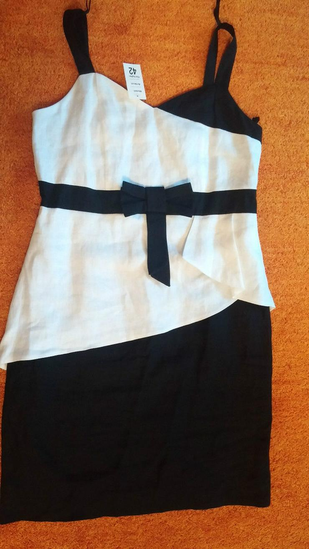 Bild 3: NEU Damen Kleid Leinen Sommer Gr.42