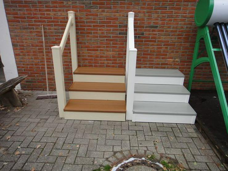 Kunststoff treppe für wohnwagen mobilheime
