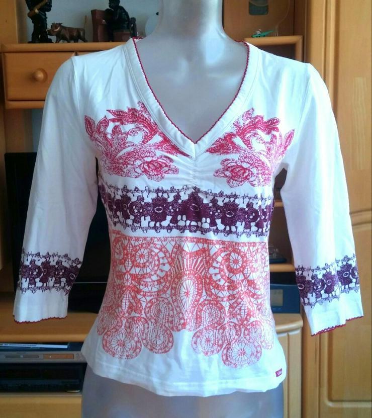 Damen Shirt Jersey gemustert Gr.S s.Oliver