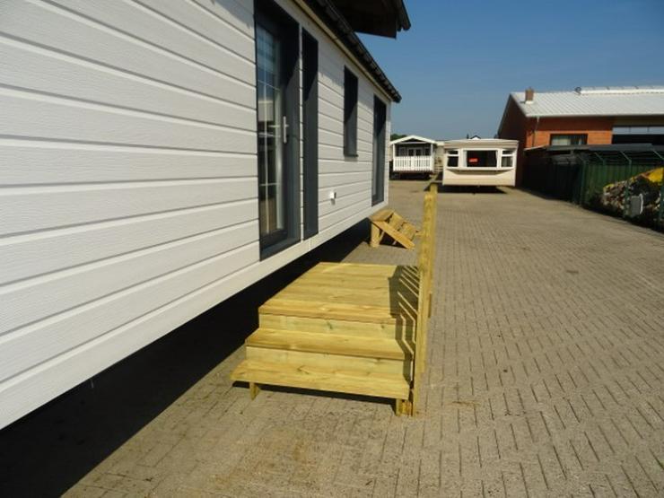 Bild 2: Podest Doppelt Für Mobilheime Wohnwagen