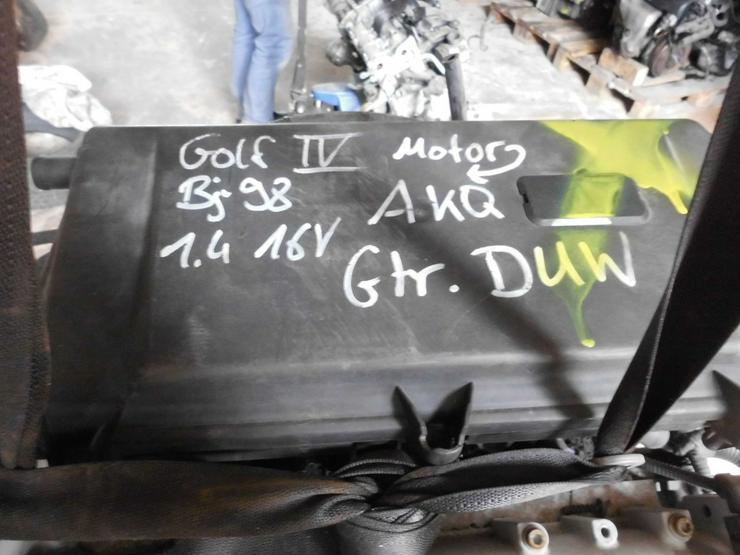 Teile Verkauf Motor vom Golf 4