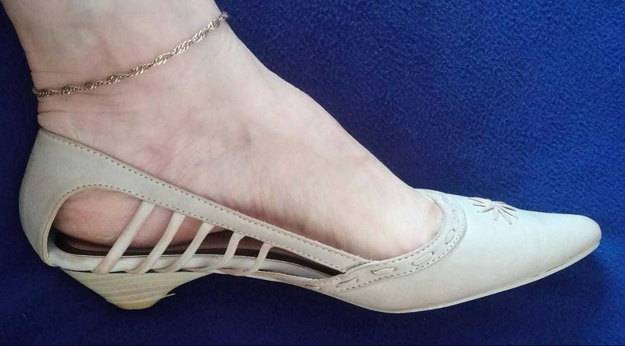 Damen Schuhe Sommer Ballerina Gr.39 Betty May - Größe 39 - Bild 1