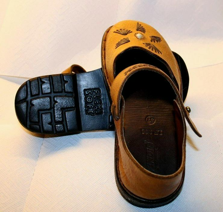 Bild 3: Damen Schuhe,Sandalen,Leder Hand Made