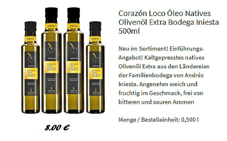Olivenöl Extra Bodega 500 ml.