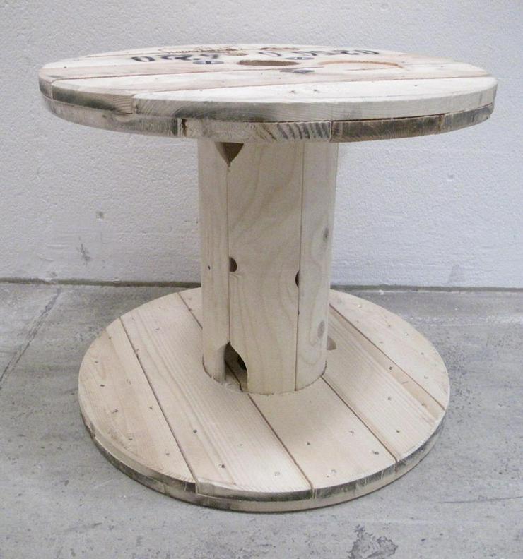 Kabeltrommel Holztrommel Vollholz 55 x 48 cm