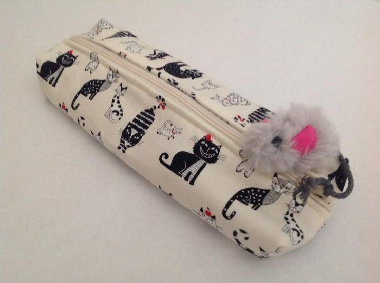 Katze, , Mäppchen, Anhänger Maus - Taschen & Rucksäcke - Bild 1