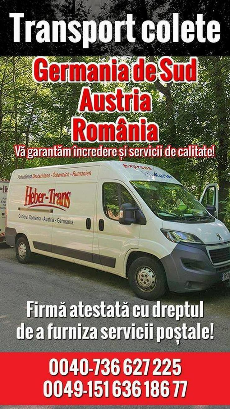 Paket von und nach Rumänien