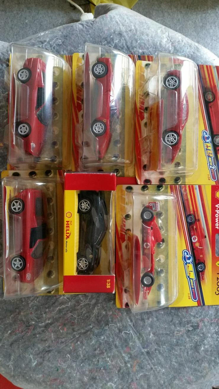 Ferrari Modellautos 1:38 Shell - Modellautos & Nutzfahrzeuge - Bild 1
