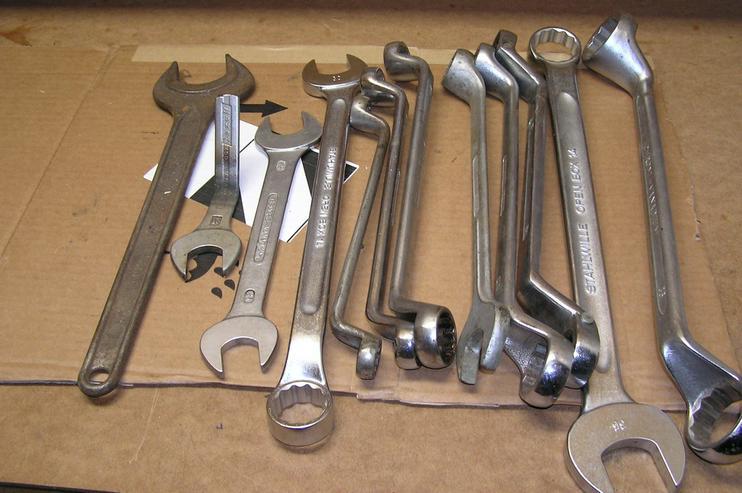 Werkzeugkiste mit Profiwerkzeug