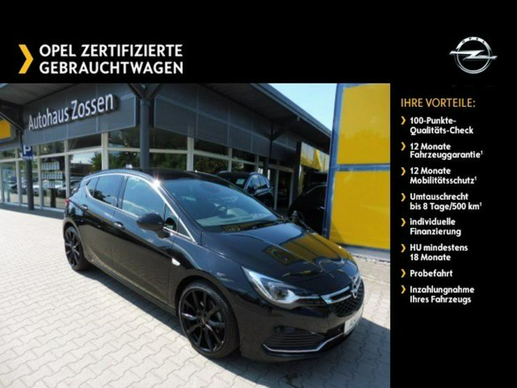 OPEL Astra 'Black Edition' 1.6 LED-Matrix-Licht 19'LMR OPC-Line - Astra - Bild 1