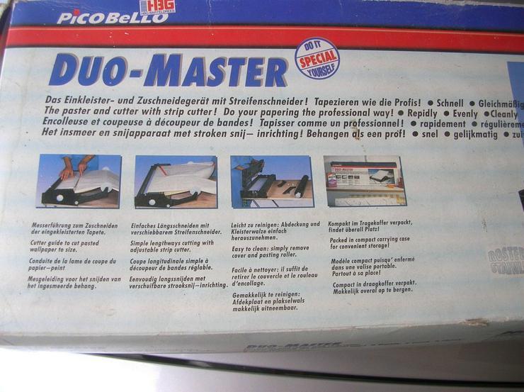 Tapeteneinkleister- und Schneidemaschine - Tapeten - Bild 1