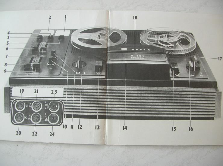 Tonbandgerät TESLA  B101