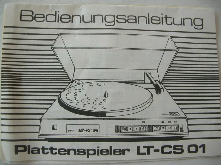 Schallplattenspieler LT - CS 01