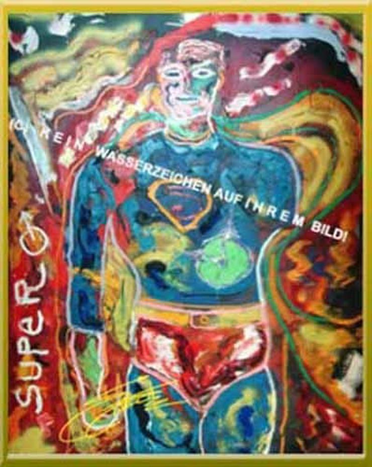 Signiertes Popkunstwerk von Sylvester Stallone. NEU!
