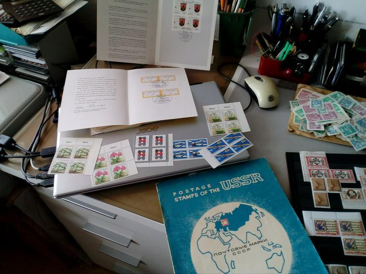 Verkaufe Briefmarkensammlung,BRD,Russland u.a