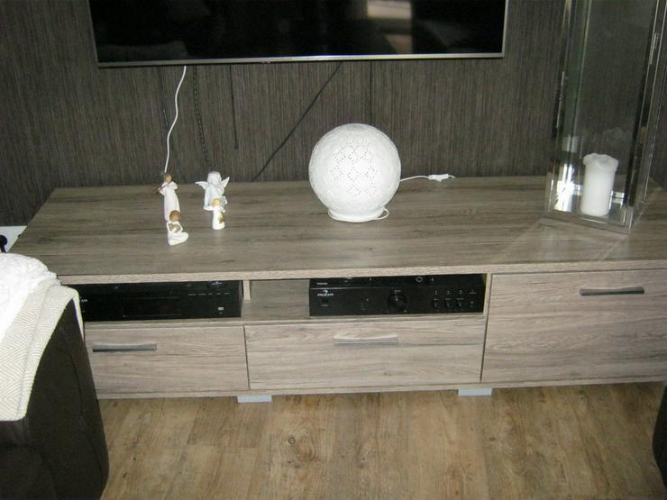 Bild 5: Hochwertiges Wohnzimmer mit Ledersofas
