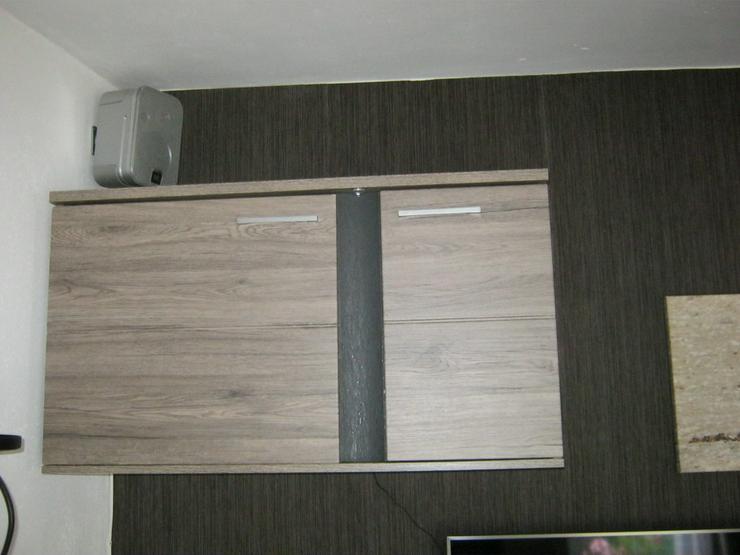 Bild 6: Hochwertiges Wohnzimmer mit Ledersofas