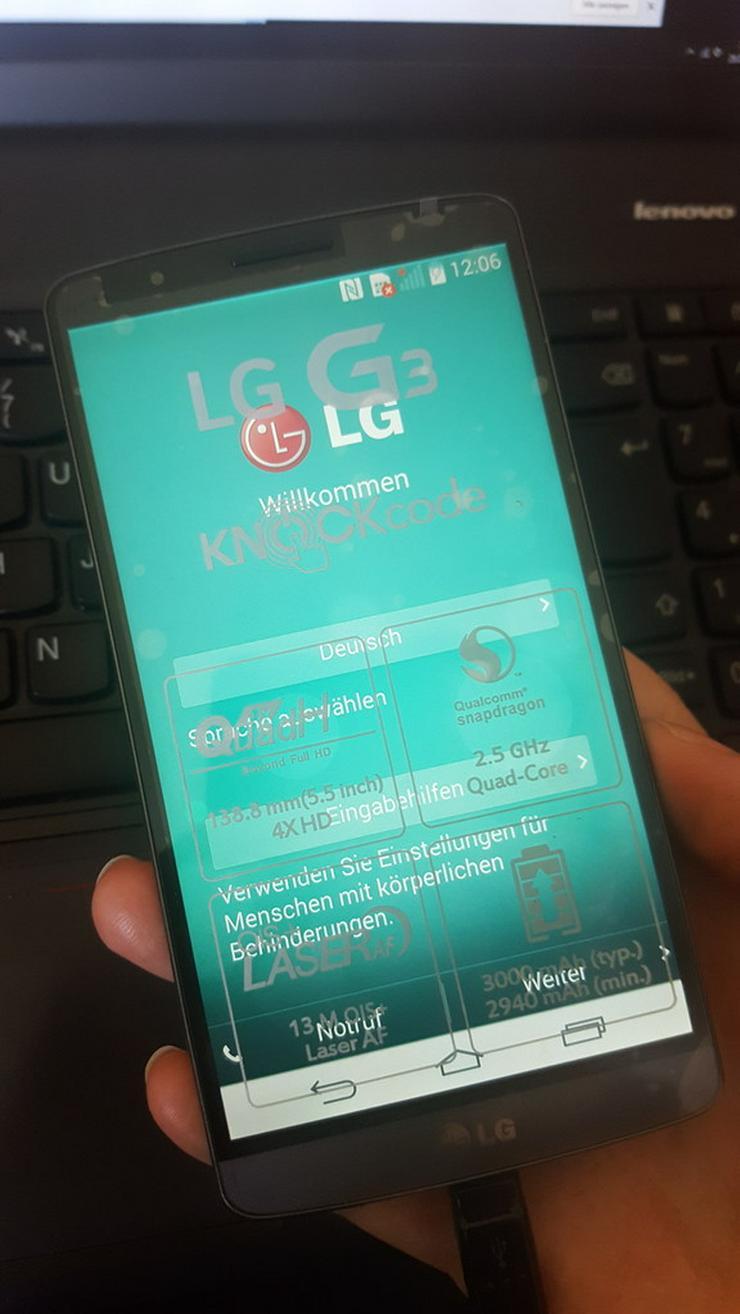 Bild 4: LG G3 32GB, Schwarz, Sehr gepflegt