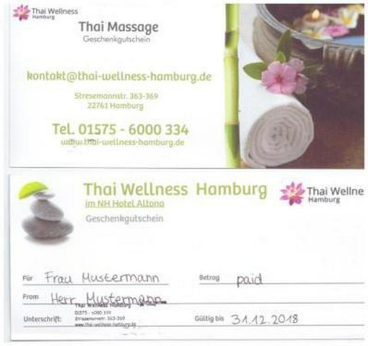 Bild 2: Gutscheine, Thaimassage, Thaiwellness, Massage