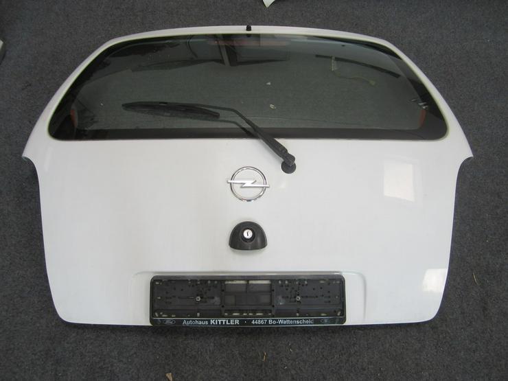 Opel Agila Heckklappe