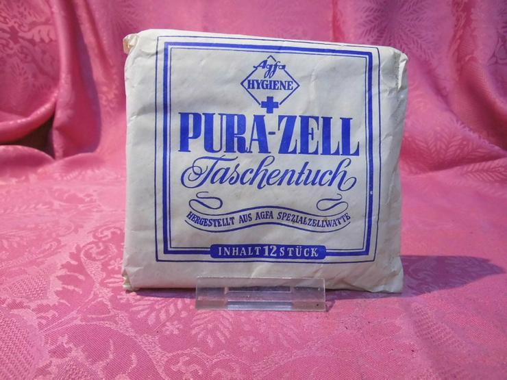 Agfa Hygiene + Pura-Zell Taschentuch / aus Agf