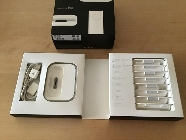 Bild 3: Universal Dock für Apple Geräte