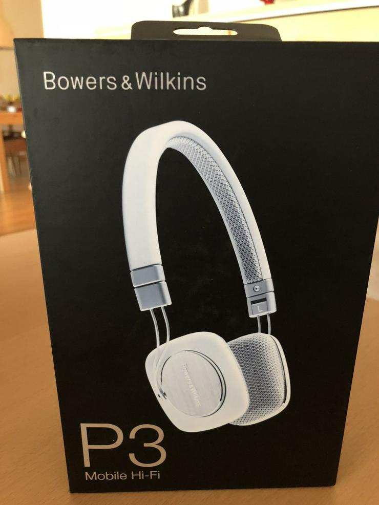 Bowers und Wilkins Kopfhörer P3 weiss