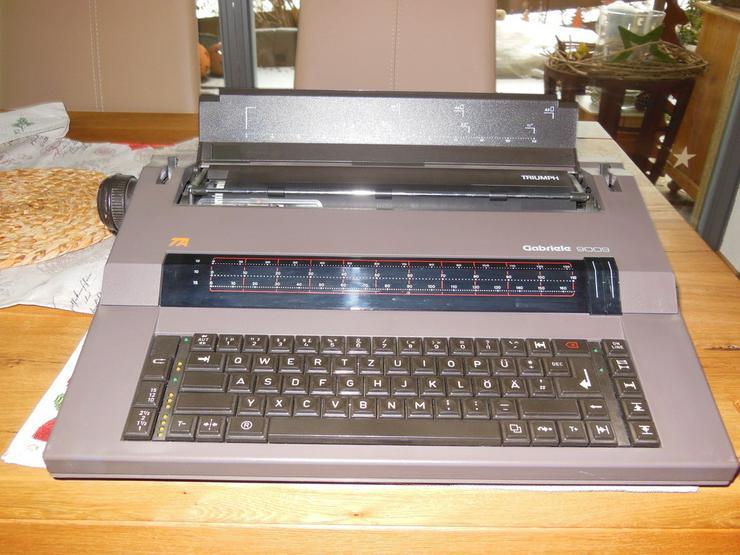 El. Schreibmaschine TA Gabriele