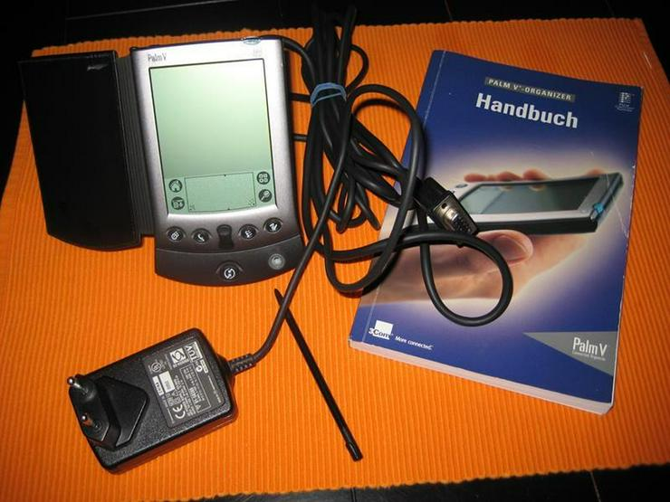 Palm V 3com Organizer mit Dockingstation