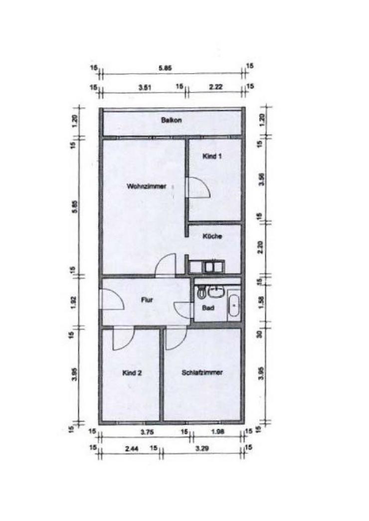 Bild 2: 4-Raum-Eigentumswohnung