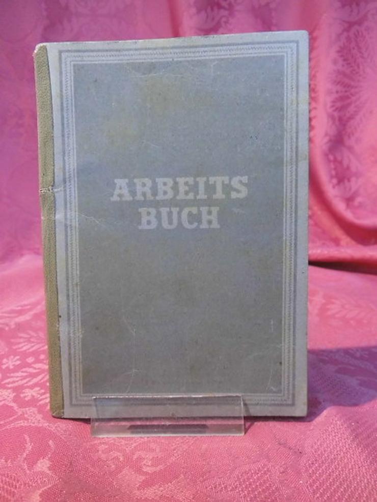 Arbeitsbuch Ausgabe 1946 / 1948 ausgestellt / - Weitere - Bild 1
