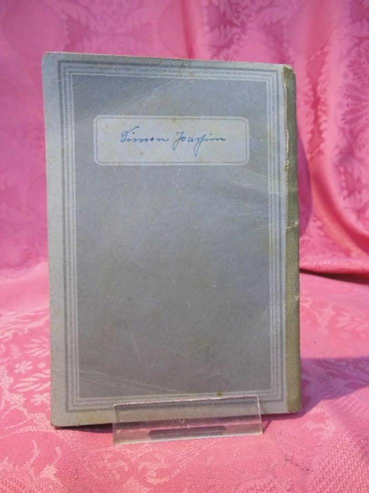 Bild 2: Arbeitsbuch Ausgabe 1946 / 1948 ausgestellt /