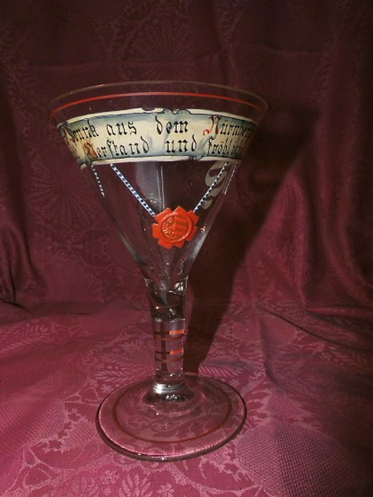 Bild 2: Antikes Glas NÜRNBERGER TRICHTER, ca.1900 / Em