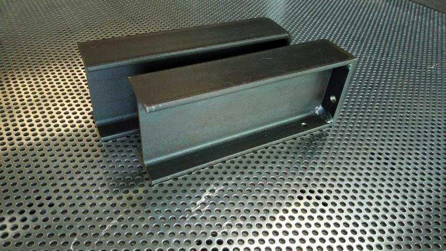 Regal Regalhalter Stahl  Industriell Metall