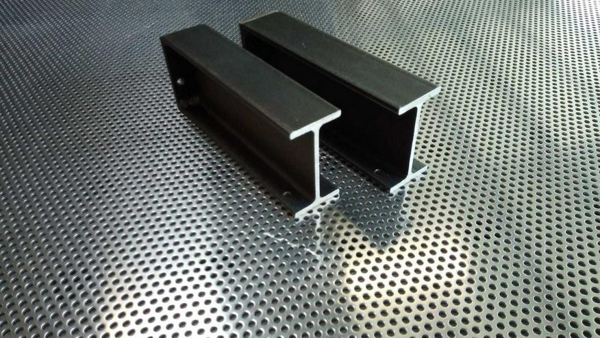 Bild 2: Regal Regalhalter Stahl  Industriell Metall