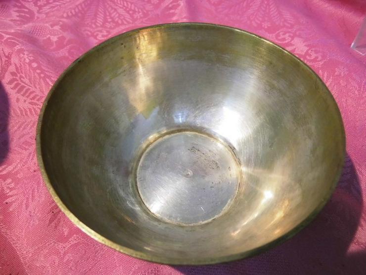 Bild 3: Antike Schale orientalische Schüssel Messing v