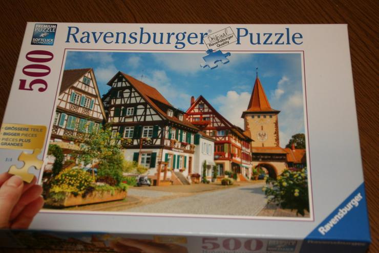 1 Ravensburger Puzzle  500 Teile
