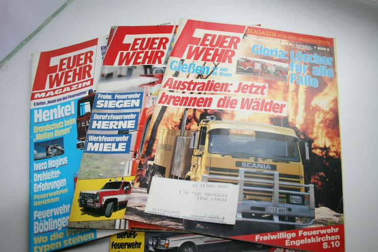 4 Feuerwehr Magazine - Zeitschriften & Zeitungen - Bild 1