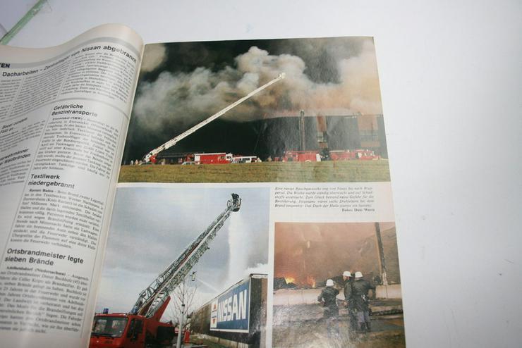 Bild 5: 4 Feuerwehr Magazine