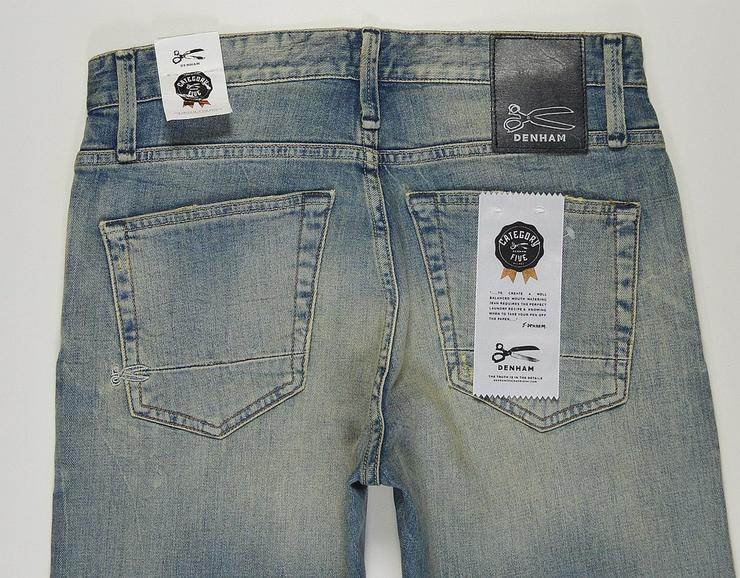 Bild 4: Denham Razor Jeans W28L30 für Abholer 5-282