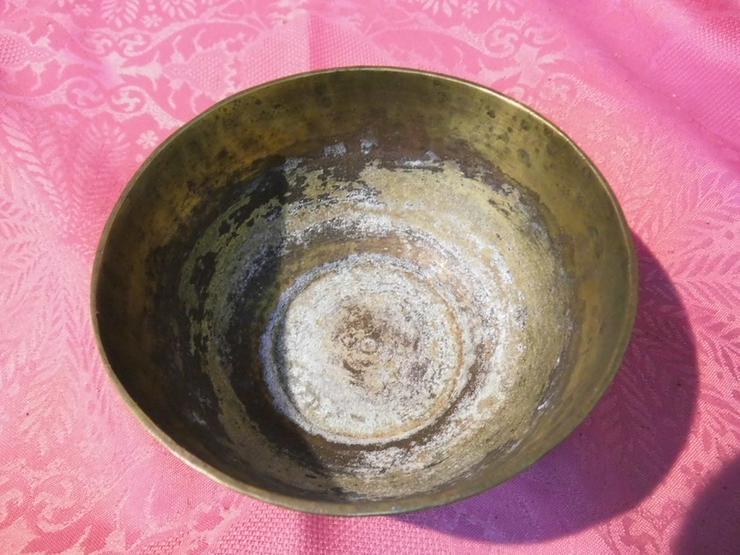 Bild 3: Antike Schale orientalische Schüssel Messing T