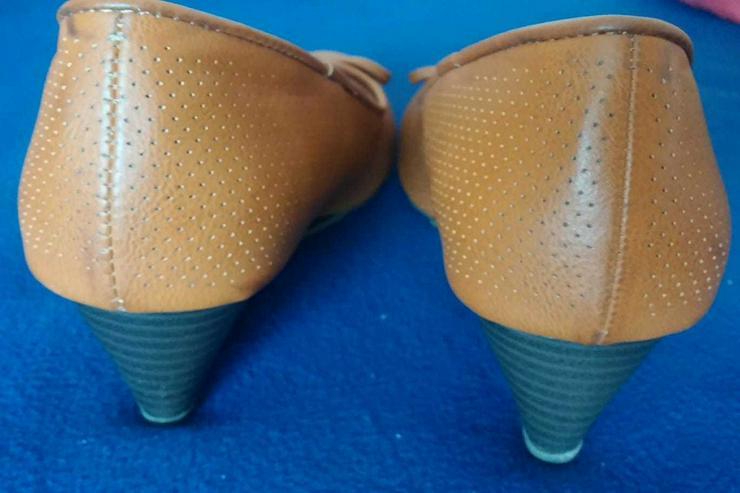 Bild 3: Damen Schuhe Pumps mit Keil Gr.39 Walkx Woman