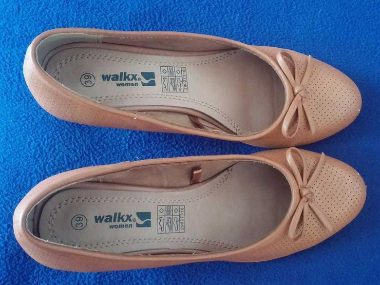 Bild 6: Damen Schuhe Pumps mit Keil Gr.39 Walkx Woman