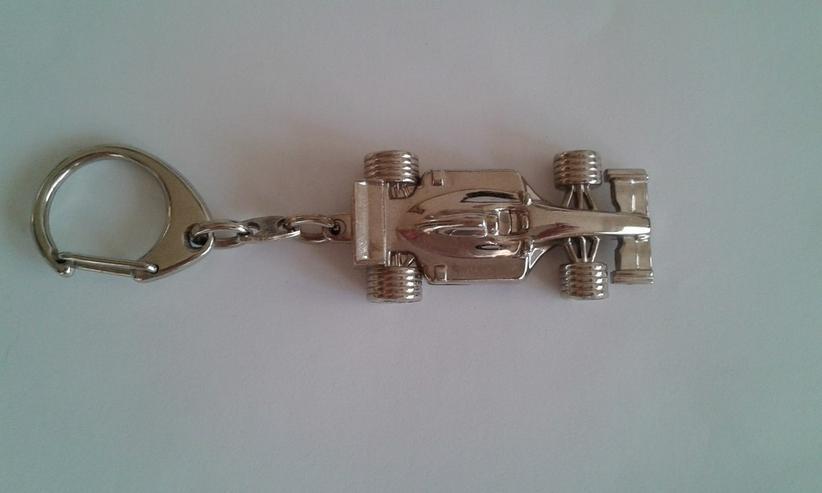 Formel 1 Schlüsselanhänger - Metall/Chrom