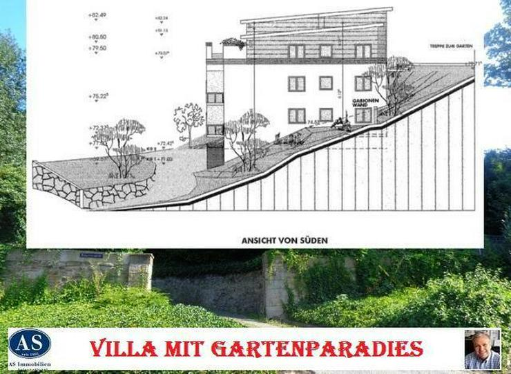 Villa mit Gartenparadies., ca. 2300 qm Baugrundstück für eine Villa mit außergewöhnlic...